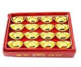 Boite de 16 Petits Lingots de Fortune - Feng Shui Richesse Et Fortune...