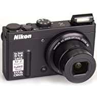 Nikon Coolpix P330 12.2MP Point-and-Shoot Digital Camera (Black) with 4GB Card, Camera Pouch, HDMI Cable