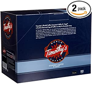Amazon - Timothy's World Coffee Variety Pack for Keurig - $13.42