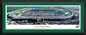 NASCAR Tracks - Homestead-Miami Speedway Aerial - Framed Poster Print by Laminated Visuals