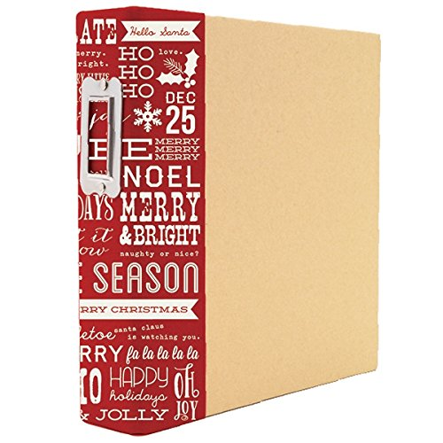 Simple Stories Claus & Co. Holiday Sn@p! Binder