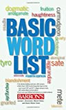 img - for Basic Word List book / textbook / text book