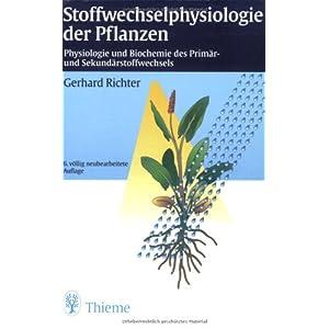 Stoffwechselphysiologie der Pflanzen: Physiologie und Biochemie des Primär- und Sekundärstoffwechs