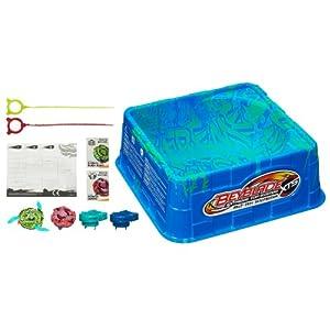 Amazon.com: BEYBLADE XTS Half Pipe Battle Set: Toys & Games