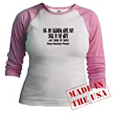Navy Nuclear Power Funny Jr. Raglan by CafePress