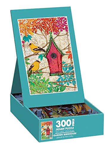 Lang Garden Birdhouse by Tim Coffey Puzzle (300-Piece)