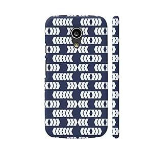 Colorpur Arrow Border Repeating Pattern Artwork On Motorola Moto G2 Cover (Designer Mobile Back Case) | Artist: Designer Chennai