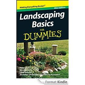 Landscaping Basics For Dummies�, Mini Edition