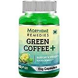 Morpheme Remedies Green Coffee+ (Garcinia, Green Coffee & Green Tea) 60 Veg Caps