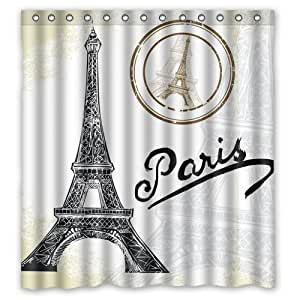 Hot selling romantic city paris and eiffel for Eiffel tower bathroom accessories