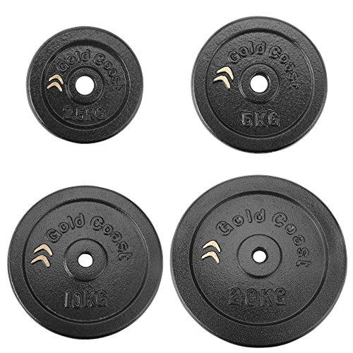 gold-coast-4-x-5kg-cast-iron-weight-plate-set
