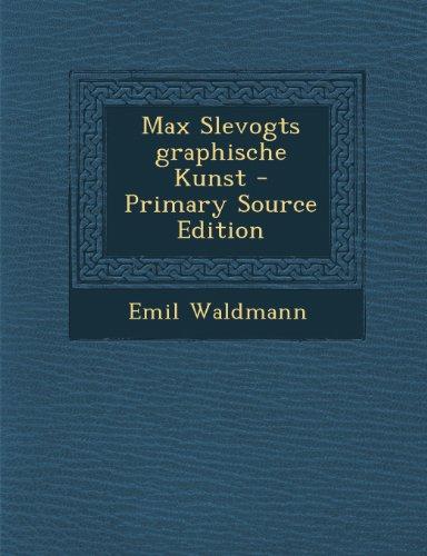 Max Slevogts Graphische Kunst