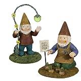 Grasslands Road Garden Gnome Figurines, 8-Inch, 4-Pack