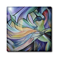 ct_46762_2 Taiche - Acrylic Painting - Women - The Art of Belly Dance - dance, dancing, belly dance,bellydance, oriental dance,middle eastern dance - Tiles - 6 Inch Ceramic Tile