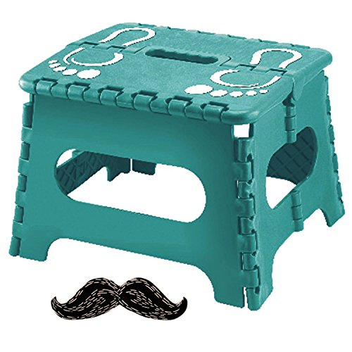 Top Turquoise Adult Kitchen Folding Step Stool 9