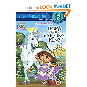 Dora and the Unicorn King (Dora the Explorer) (Step into Reading) by Random House