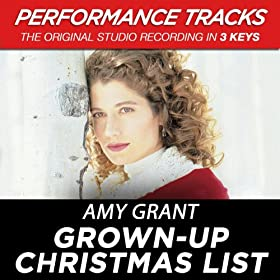 Grown-Up Christmas List: Amy Grant: Amazon.it: Musica Digitale