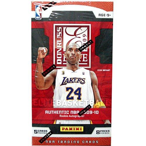 2009 10 Panini Elite Basketball 8 Pack Box