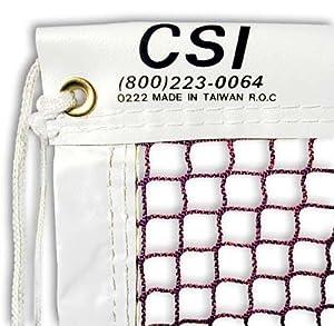 Buy Tournament Grade 21-ft Badminton Net by CSI Cannon Sports