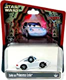 Disney Cars Star Wars Sally As Princess Leia Disney Mattel 1:55 Scale Limited Edition