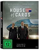 DVD Cover 'House of Cards - Die komplette dritte Season [4 DVDs]