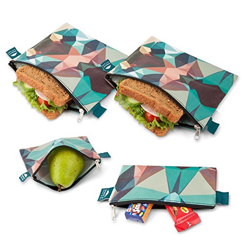 nordic-by-nature-premium-camo-sandwich-snack-bags-designer-set-of-4-pack-resealable-reusable-and-eco