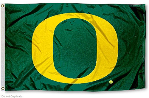 Uo Oregon Ducks University Large College Flag