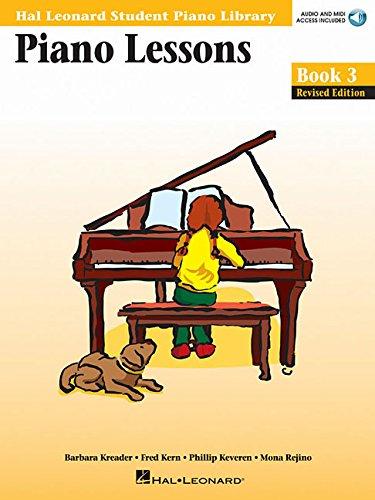 Piano Lessons Book 3: Hal Leonard Student Piano Library (Hal Leonard Student Piano Library (Songbooks))
