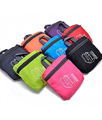 20L Ultra Lightweight Tear & Water Resistant Handy Foldable Backpack (8 Colors) by SHOWTIME INC.