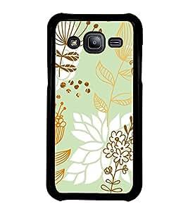 ifasho Designer Phone Back Case Cover Samsung Galaxy J2 J200G (2015) :: Samsung Galaxy J2 Duos (2015) :: Samsung Galaxy J2 J200F J200Y J200H J200Gu ( Pink White Colorful Pattern Design )