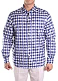 Pablo Plaid Blue M