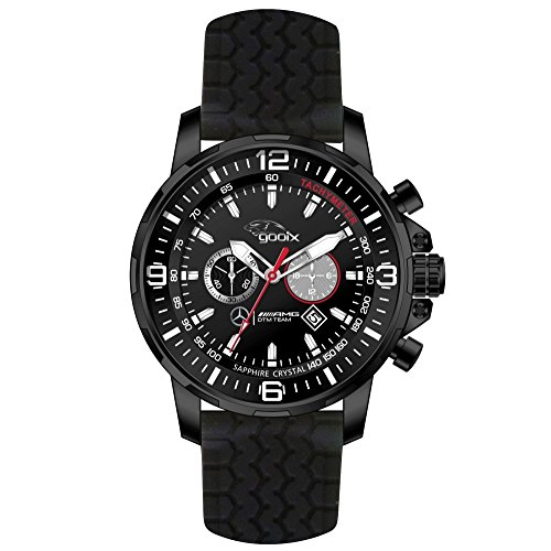 gooix-hua-05419-mercedes-amg-dtm-100-m-analog-chrono-date-black-rubber-mens-chronograph-watch-stainl