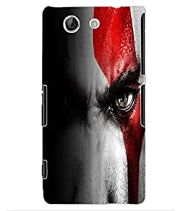 ColourCraft Eyes Design Back Case Cover for SONY XPERIA Z4 MINI / COMPACT