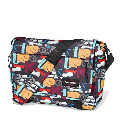 Eastpak , Borsa Messenger  Unisex, Font Colors (Multicolore) - EK07634K