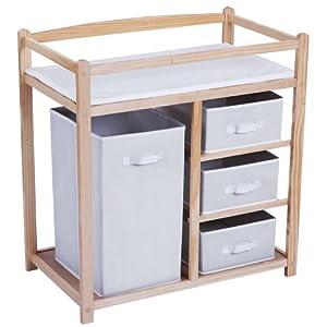Infantastic® - Cambiador para bebés aprox. 85 x 79 x 46 cm por Infantastic® - Bebe Hogar