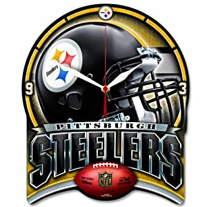 Wincraft Pittsburgh Steelers High Def Clock at SteelerMania