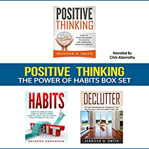 Positive Thinking: The Power of Habits Box Set Audiobook