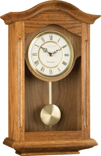 Oak Finish Pendulum Wall Clock - LC25058