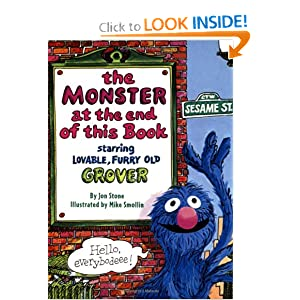 The Monster at the End of This Book (Big Bird's Favorites Board Books)