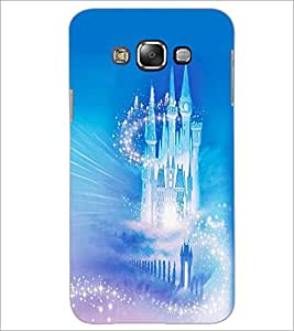 PrintDhaba Glass Castle D-2450 Back Case Cover for SAMSUNG GALAXY GRAND 3 (Multi-Coloured)