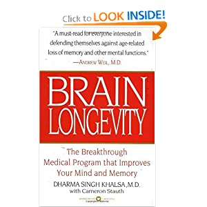 Brain Longevity: The Breakthrough Medical Program that Improves Your Mind and Memory