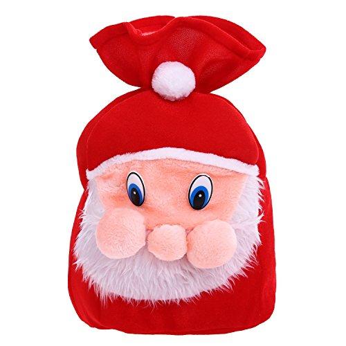 Velvet Santa's Gift Sack