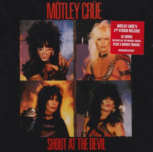 Motley Crue - Shout at the Devil [Original recording reissued, Import] - Zortam Music