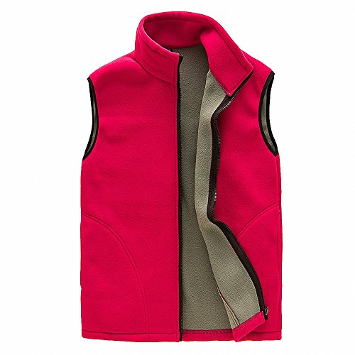 Maoko Women's Polar Fleece Mountain Vest Jackets Red (Press Vest compare prices)