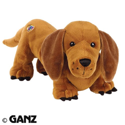 Webkinz Plush Stuffed Animal Cinnamon Dachshund