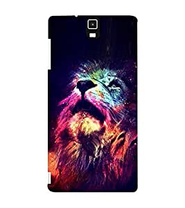 EPICCASE Majestic lions Mobile Back Case Cover For Infocus M330 (Designer Case)