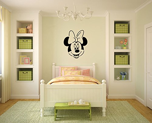 Minnie-Mouse-inspir-Sticker-mural-en-vinyle-Cuisine