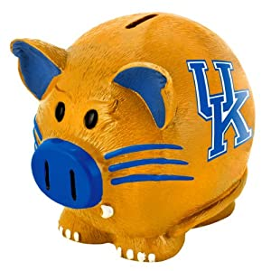 NCAA Kentucky Wildcats Resin Large Thematic Piggy Bank