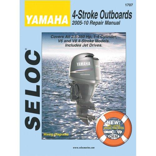The Amazing Quality Seloc Service Manual Yamaha All 4-Stroke Engines 2005-2010