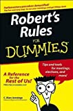 img - for C.A.Jennings's Robert's Rules for Dummies (Paperback)2004 book / textbook / text book